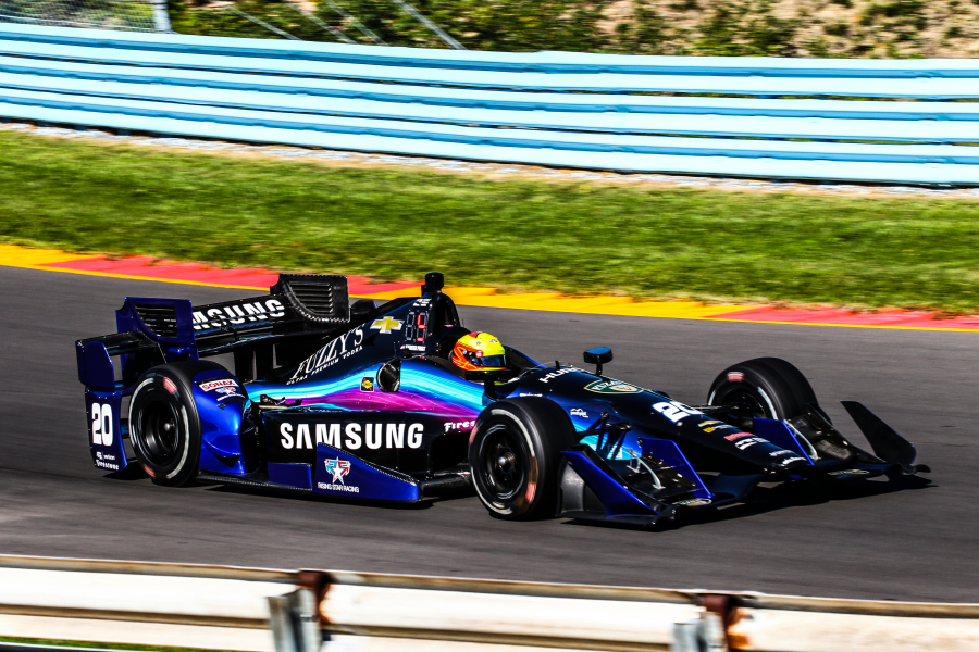 Samsung To Support Spencer Pigot And No. 20 Ed Carpenter Racing Entry In Remaining Verizon INDYCAR Series Races