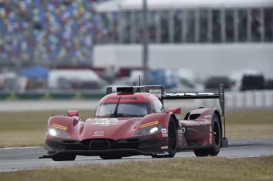 Mazda Team Joest Tests Endurance At Daytona