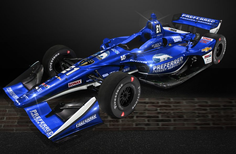 Pigot to Compete in the No. 21 Preferred Freezer Services Chevrolet in Four Events in 2018, Including Indianapolis 500