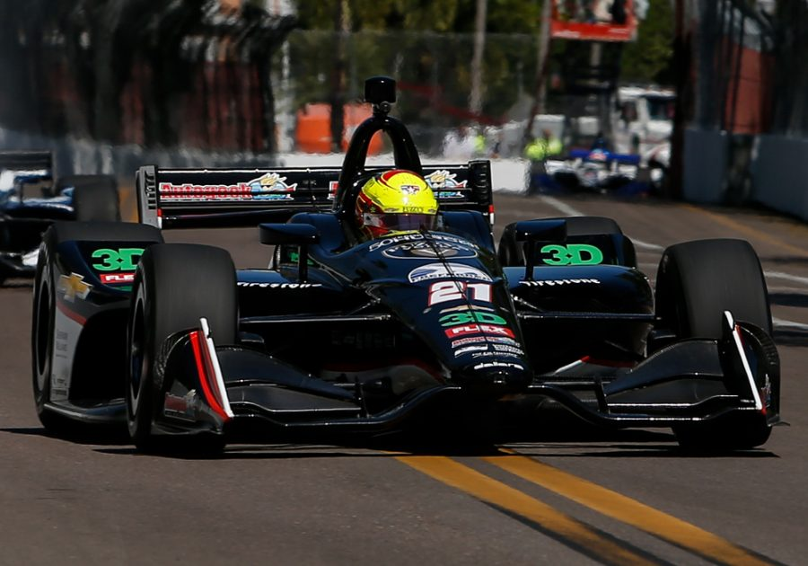 Spencer Pigot Shows Speed in Season-Opening Firestone Grand Prix of St. Petersburg