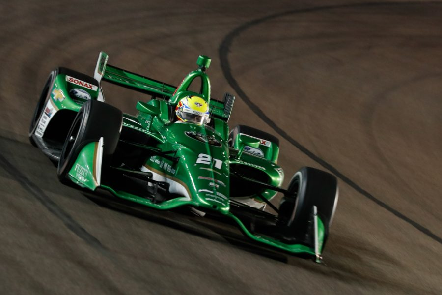 Spencer Pigot Takes Checkered Flag in 14th In First Career Indy Car Short Oval Race