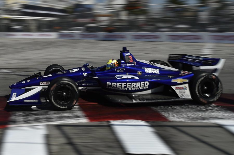 Gearbox Woes Hamper Pigot's Forward Progress in Long Beach