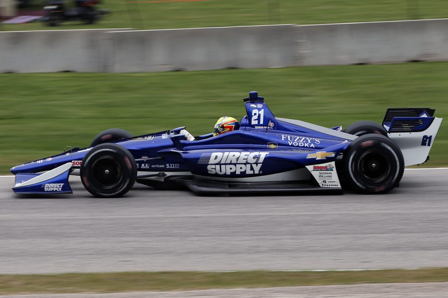 Pigot Earns Another Top 10 in Road America