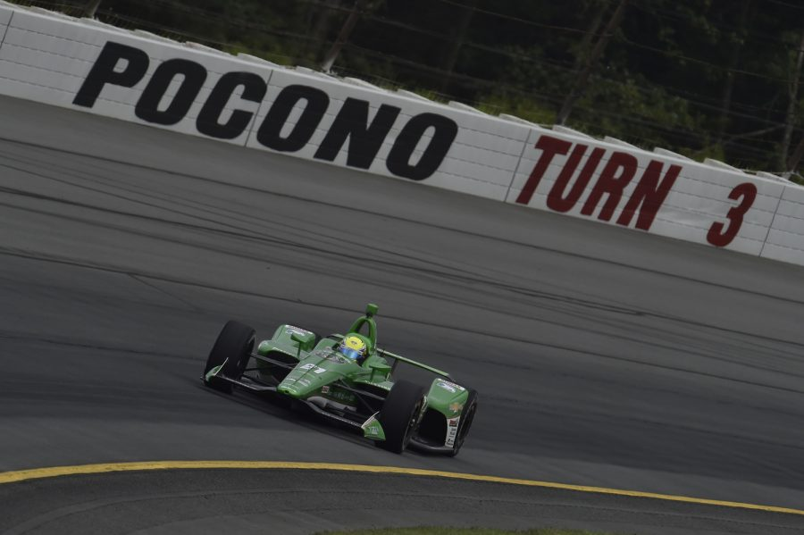 Pigot Finishes 16th at Pocono Raceway Despite Being Hit By Another Competitor Prior to the Green Flag