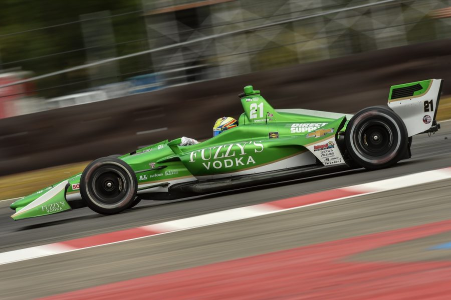 Stellar Drive Results in 4th Place for Pigot in Portland
