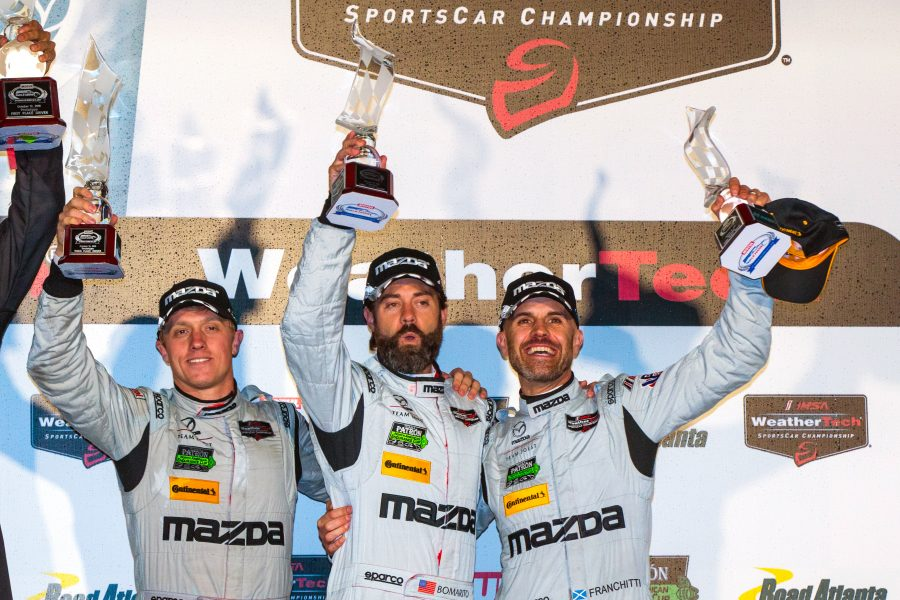 Pigot Helps Mazda to Podium Finish at Petit Le Mans
