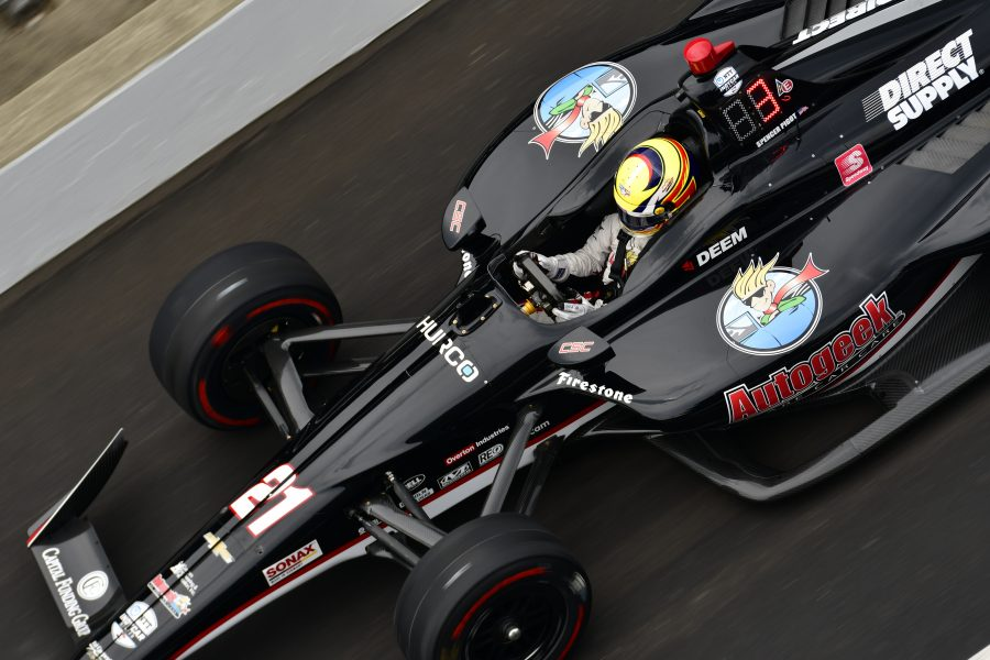 Pigot Stays the Course Over 500 Miles to Finish 14th in 2019 Indianapolis 500