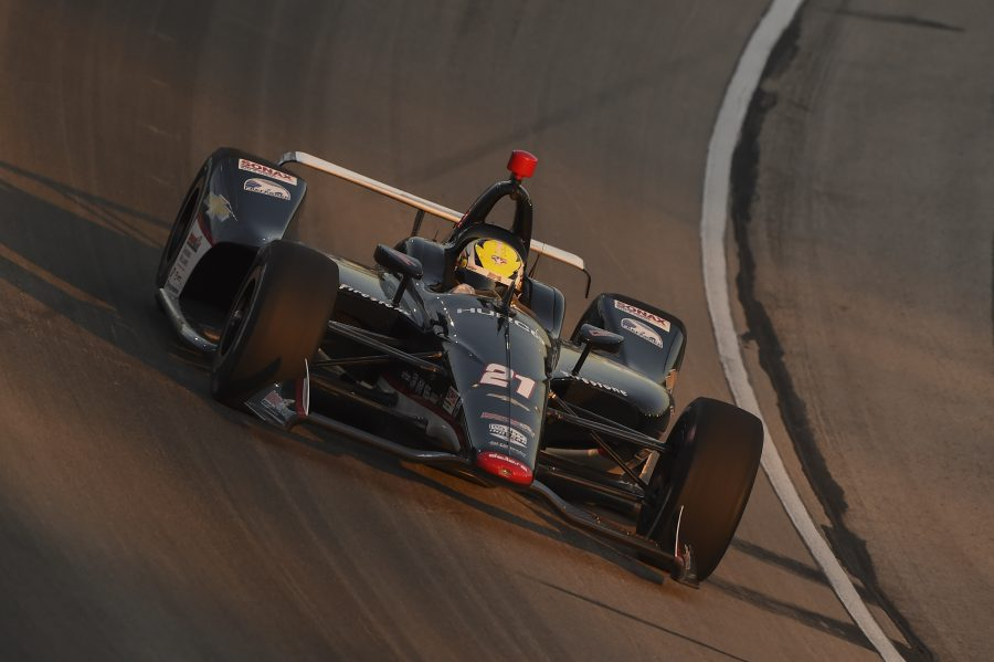 Pigot Finishes 14th in a 248-Lap Battle of Perseverance at Texas