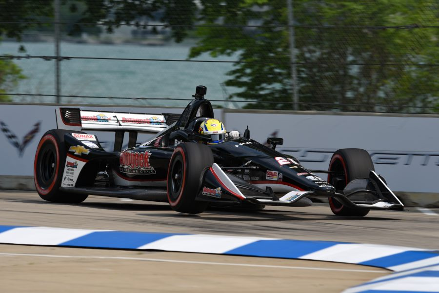 Second Detroit Race Sees Pigot Taken Out of Contention Prior to First Pit Stop