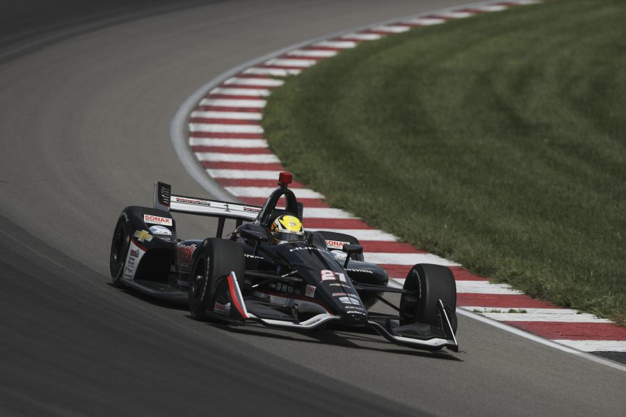Pigot Taken Out Of Contention at WTT Raceway at Gateway